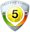 tellows Score 5 zu 08007757878
